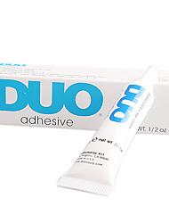DUO Secagem tornar Tubo de cílios Maquiagem Adesiva Transparente Branco