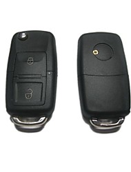 2-Button Remote Flip Key Case for Volkswagen VW