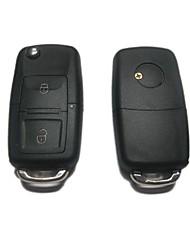 2-кнопочным пультом дистанционного Флип ключ чехол для Volkswagen VW