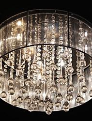 Crystal / LED Others Metal Flush Mount Living Room