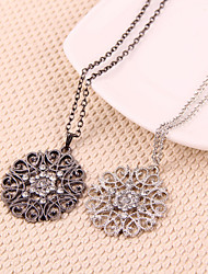 Jewelry Pendant Necklaces Party Alloy Women Gold Wedding Gifts