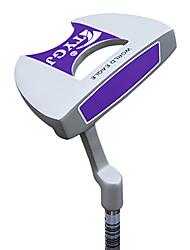 TTYGJ Golf Club Wonmens Halbrunde 34 Zoll S / R-Zink-Legierung Kopf-Stahlwelle Lila Putter