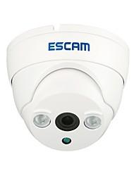 Etanche Caméra IP Dôme Escam ET QD530 H.264 Dual Stream 3.6MM jour / nuit, de soutien de détection mobile