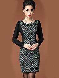 YIMAN® Women's Retro Digital Print Dress