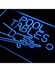 Tablas I009 Piscina Sala luz de neón