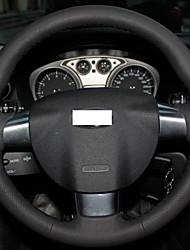 Xuji ™ Black echt leder stuurhoes voor Ford Focus 2 3 Focus RS 2009 2008 2011