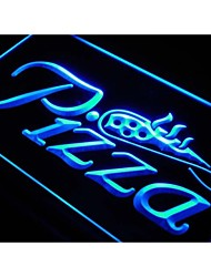 Pizza Shop Slice Display Shop Neon Light Sign