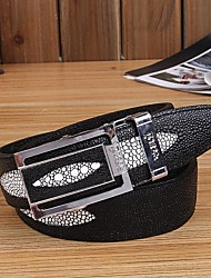Men Wide Belt , Vintage/Cute/Party/Work/Casual Alloy/Leather