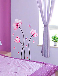 Flower Pattern Wall Sticker(1PCS)