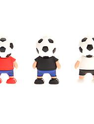 Fußball-Spieler USB 2.0 Flash Drive 2GB