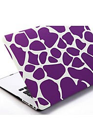 Purple Irregular Patterns Patterns Folio Plastic Protective Hard Shell Case for Macbook Air 13""