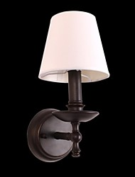 Bulb Included Wall Sconces , Modern/Contemporary E12/E14 Metal