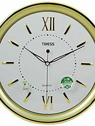 "Timess ™ 13 ""H Brève style romain Raisde échelle Horloge murale Muet"
