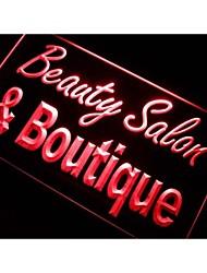 M108 Beauty Salon & Boutique luz de neón