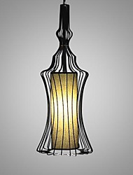Kronleuchter, ein Licht, Simple Künstlerische Edelstahl Überzug MS-86276-3