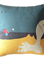 Pitture famose opere Forty-Seven Decorative copertura del cuscino