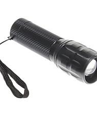 Flood-to-Throw Zoom Obiettivo di vetro Cree P4 LED Flashlight (3xAAA)