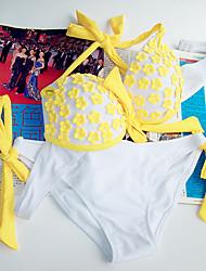 Glamour Girl Sexy Printing Bikini Swimsuit
