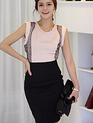 Women's Slim High Waist Pencil Skirt