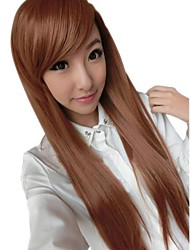 Girl Fashion Straight Synthetic Side Bang Wigs