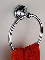 Anel de toalha de prata de bronze de parede