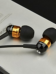 JBM-A8 3.5mm Hi-Fi In-ear Earphones Microphone Earphones for iPhone  And Others 3.5mm Device