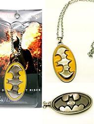 Batman Superhero Bat Sign Necklace Movie Cosplay Accessory2
