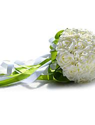 Elegante forma redonda Foam Bouquet do casamento (mais cores)