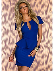 Darling Clothes Women's Sexy Solid Color Dress