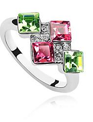Xingzi Women's Swarovski Austria Crystal Ring 499