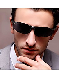 New Fashion MenPolarizer Ultralight Aluminum Magnesium Material Box Outdoor Sunglasses Hot Sale (Assorted Color)