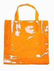 Frauen Sommer neue Süßigkeit Transparent Retro Vintage Shopper Totes Eco Papiertasche Handtasche