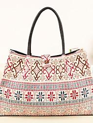 Geometric Stampa modello da donna design tela Tote Shopper Bag Handbag