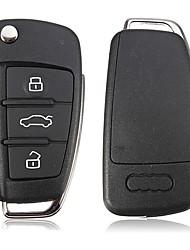 3-Button Remote Key Case for Audi