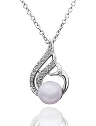 GEM Women link Pearl Necklace LKN18KRGPN551