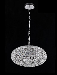 120W 3 Light  Oval Crystal Chandeliers