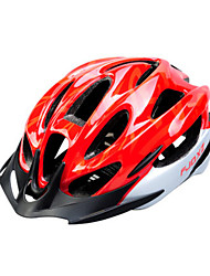 FJQXZ Men's Half Shell Bike helmet 15 Vents Cycling Cycling PC / EPS Red