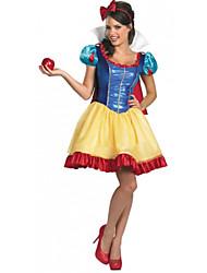 Costumes de Cosplay Princesse / Conte de Fée Fête / Célébration Déguisement Halloween Robe Halloween / Carnaval Féminin Polyester
