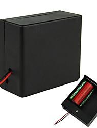 2 x D Batterie Source Box Holder Case