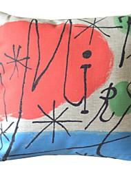 Pitture famose opere Sixteen Decorative copertura del cuscino