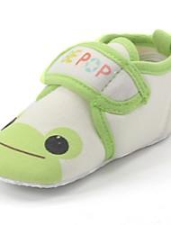 Talon plat de chiffon enfants premiers marcheurs Comfort Mocassins avec Cartoon Chaussures de modèle