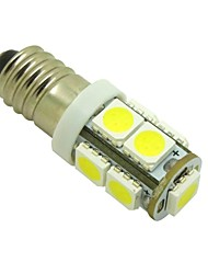 E10 2W 9X5050 SMD 6000K White Lights LED Light Bulb for Diy (DC 12V , 2-Pack)