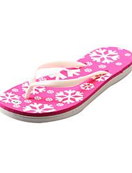 Women's Spring / Summer / Fall Flip Flops / Slide Synthetic Casual Flat Heel Slip-on Blue / Pink / Navy