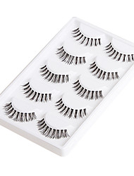 5 Pairs Fashion Discontinuous Style False Eyelashes within High-grade Gift Box 5-01