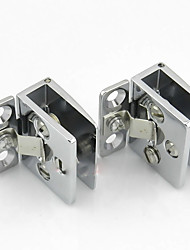 35mm × 42mm Zinc Alloy By Surface Polishing For Small Glass Door Hinge