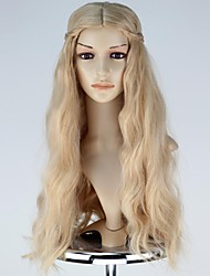 Cosplay Wigs Fairytale Movie Cosplay Golden Solid Wig Halloween / Christmas / New Year Female
