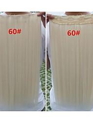 Clip de vente chaude couleur coloré fille en gros dans Extension de cheveux cheveux synthétiques 24 pouces
