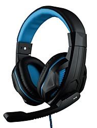 OVANN X2 Over-Ear 3.5mm Stereo Professionale Gaming Headset con microfono per PC Game (blu / rosso / verde)