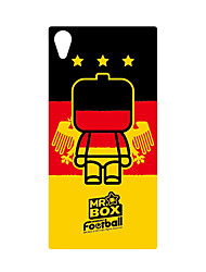 DDGD Creative 3D World Cup Theme Phone Case for SonyZ2-SJB23#Gremany