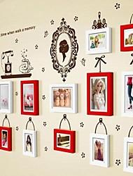 Coleção Photo Frame Set de 13 com adesivos de parede 33